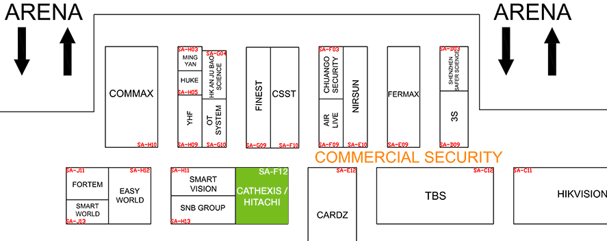Cathexis at Intersec 2015
